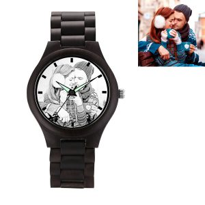 Special Customized Photo Wooden Watch